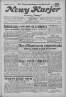 """Nowy Kurjer: dawniej """"Postęp"""" 1932.12.24 R.43 Nr296"""
