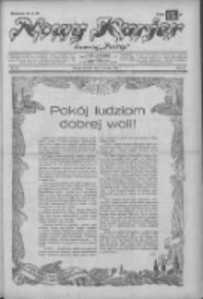 """Nowy Kurjer: dawniej """"Postęp"""" 1932.12.25 R.43 Nr297"""