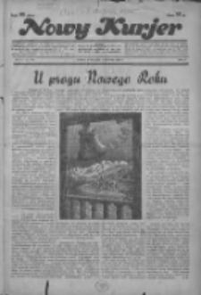 """Nowy Kurjer: dawniej """"Postęp"""" 1936.01.01 R.47 Nr1"""