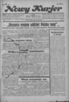 """Nowy Kurjer: dawniej """"Postęp"""" 1936.01.03 R.47 Nr2"""