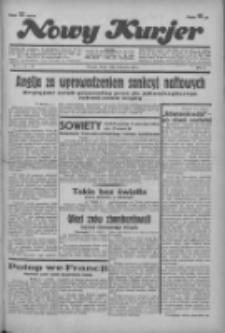 """Nowy Kurjer: dawniej """"Postęp"""" 1936.01.08 R.47 Nr5"""