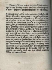 Charon, Lat. Trad. Rinuccius de Castiglione. Ed. Paulus Niavis