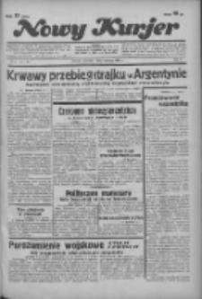 """Nowy Kurjer: dawniej """"Postęp"""" 1936.01.09 R.47 Nr6"""
