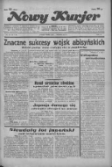 """Nowy Kurjer: dawniej """"Postęp"""" 1936.01.11 R.47 Nr8"""