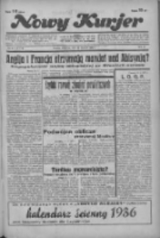 """Nowy Kurjer: dawniej """"Postęp"""" 1936.01.12 R.47 Nr9"""