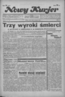"""Nowy Kurjer: dawniej """"Postęp"""" 1936.01.15 R.47 Nr11"""