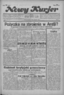 """Nowy Kurjer: dawniej """"Postęp"""" 1936.01.16 R.47 Nr12"""