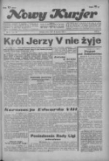 """Nowy Kurjer: dawniej """"Postęp"""" 1936.01.22 R.47 Nr17"""