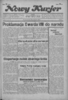"""Nowy Kurjer: dawniej """"Postęp"""" 1936.01.23 R.47 Nr18"""