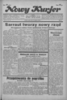 """Nowy Kurjer: dawniej """"Postęp"""" 1936.01.25 R.47 Nr20"""