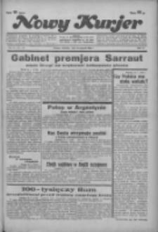"""Nowy Kurjer: dawniej """"Postęp"""" 1936.01.26 R.47 Nr21"""