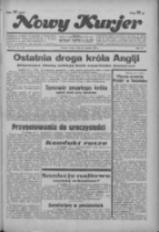 """Nowy Kurjer: dawniej """"Postęp"""" 1936.01.29 R.47 Nr23"""