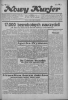 """Nowy Kurjer: dawniej """"Postęp"""" 1936.02.15 R.47 Nr38"""