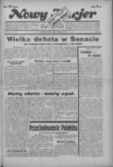 """Nowy Kurjer: dawniej """"Postęp"""" 1936.02.16 R.47 Nr39"""