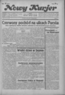 """Nowy Kurjer: dawniej """"Postęp"""" 1936.02.18 R.47 Nr40"""
