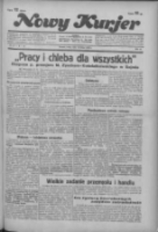 """Nowy Kurjer: dawniej """"Postęp"""" 1936.02.19 R.47 Nr41"""