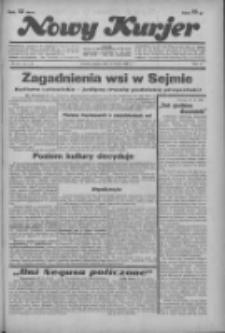 """Nowy Kurjer: dawniej """"Postęp"""" 1936.02.21 R.47 Nr43"""