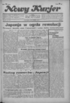 """Nowy Kurjer: dawniej """"Postęp"""" 1936.02.28 R.47 Nr49"""