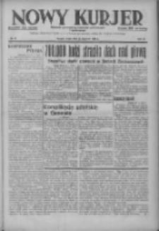 Nowy Kurjer: dziennik poświęcony sprawom politycznym i społecznym 1937.01.27 R.48 Nr21