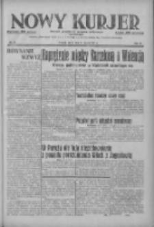Nowy Kurjer: dziennik poświęcony sprawom politycznym i społecznym 1937.03.31 R.48 Nr73