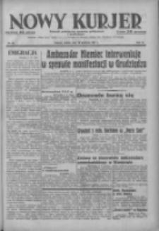 Nowy Kurjer: dziennik poświęcony sprawom politycznym i społecznym 1937.04.10 R.48 Nr82