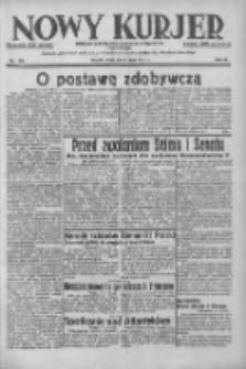 Nowy Kurjer: dziennik poświęcony sprawom politycznym i społecznym 1937.07.07 R.48 Nr152