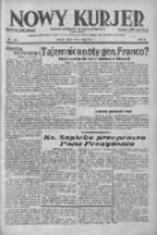Nowy Kurjer: dziennik poświęcony sprawom politycznym i społecznym 1937.07.09 R.48 Nr154