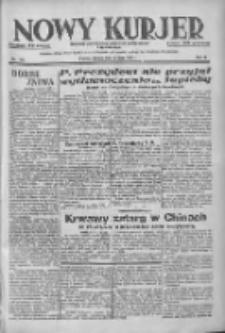 Nowy Kurjer: dziennik poświęcony sprawom politycznym i społecznym 1937.07.10 R.48 Nr155