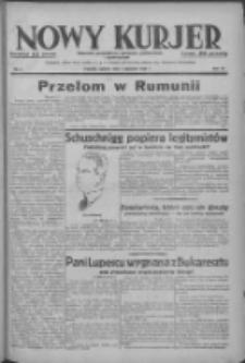 Nowy Kurjer: dziennik poświęcony sprawom politycznym i społecznym 1938.01.04 R.49 Nr2