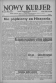 Nowy Kurjer: dziennik poświęcony sprawom politycznym i społecznym 1938.01.06 R.49 Nr4