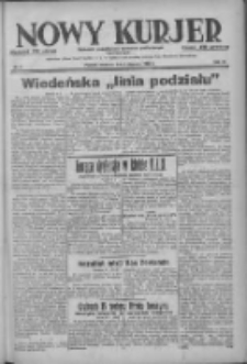 Nowy Kurjer: dziennik poświęcony sprawom politycznym i społecznym 1938.01.09 R.49 Nr6