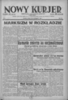 Nowy Kurjer: dziennik poświęcony sprawom politycznym i społecznym 1938.01.11 R.49 Nr7
