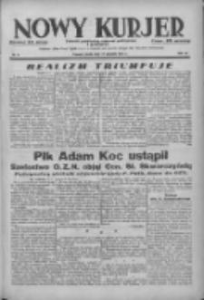 Nowy Kurjer: dziennik poświęcony sprawom politycznym i społecznym 1938.01.12 R.49 Nr8