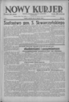Nowy Kurjer: dziennik poświęcony sprawom politycznym i społecznym 1938.01.13 R.49 Nr9