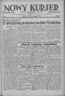 Nowy Kurjer: dziennik poświęcony sprawom politycznym i społecznym 1938.01.16 R.49 Nr12