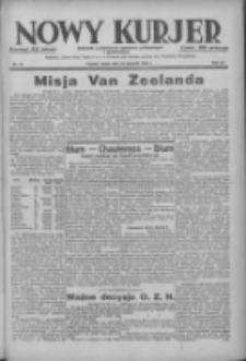 Nowy Kurjer: dziennik poświęcony sprawom politycznym i społecznym 1938.01.19 R.49 Nr14