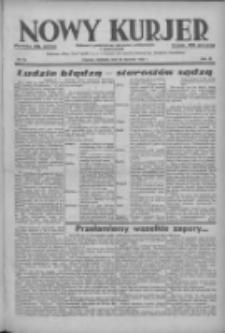 Nowy Kurjer: dziennik poświęcony sprawom politycznym i społecznym 1938.01.23 R.49 Nr18