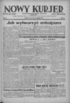 Nowy Kurjer: dziennik poświęcony sprawom politycznym i społecznym 1938.01.25 R.49 Nr19