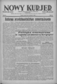 Nowy Kurjer: dziennik poświęcony sprawom politycznym i społecznym 1938.01.26 R.49 Nr20