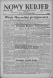 Nowy Kurjer: dziennik poświęcony sprawom politycznym i społecznym 1938.01.27 R.49 Nr21
