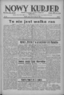 Nowy Kurjer: dziennik poświęcony sprawom politycznym i społecznym 1938.01.28 R.49 Nr22