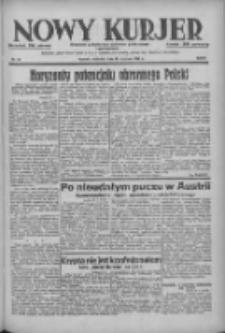 Nowy Kurjer: dziennik poświęcony sprawom politycznym i społecznym 1938.01.30 R.49 Nr24