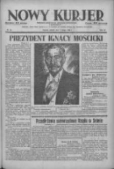 Nowy Kurjer: dziennik poświęcony sprawom politycznym i społecznym 1938.02.01 R.49 Nr25