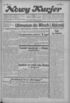 """Nowy Kurjer: dawniej """"Postęp"""" 1936.03.04 R.47 Nr53"""