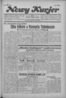 """Nowy Kurjer: dawniej """"Postęp"""" 1936.03.05 R.47 Nr54"""