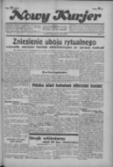 """Nowy Kurjer: dawniej """"Postęp"""" 1936.03.07 R.47 Nr56"""
