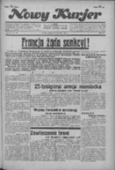 """Nowy Kurjer: dawniej """"Postęp"""" 1936.03.10 R.47 Nr58"""