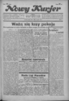 """Nowy Kurjer: dawniej """"Postęp"""" 1936.03.13 R.47 Nr61"""