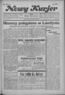 """Nowy Kurjer: dawniej """"Postęp"""" 1936.03.14 R.47 Nr62"""