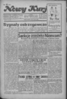 """Nowy Kurjer: dawniej """"Postęp"""" 1936.03.15 R.47 Nr63"""